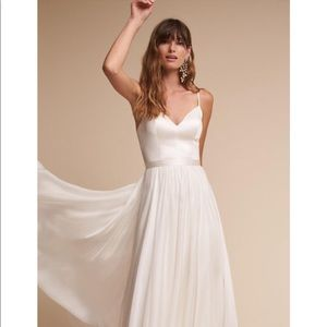 Bhldn wedding dress by Catherine Deane